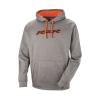 Men's Vapor Hoodie Sweatshirt with RZR® Logo, Gray/Orange - Image 1 of 2
