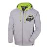 Men's Full-Zip Sketch Hoodie Sweatshirt with RZR® Graphic, Gray/Lime - Image 1 of 3