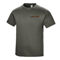 Men's Air Graphic T-Shirt with RZR® Logo, Gray