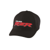 Men's (S/M) Flexfit Hat with Red RZR® Logo, Black - Image 1 of 2