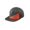 Men's Flexfit Flatbill SoCal Hat with Gray RZR® Logo, Gray/Orange - Image 1 of 3