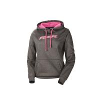 Women's Vapor Hoodie - Gray/Pink
