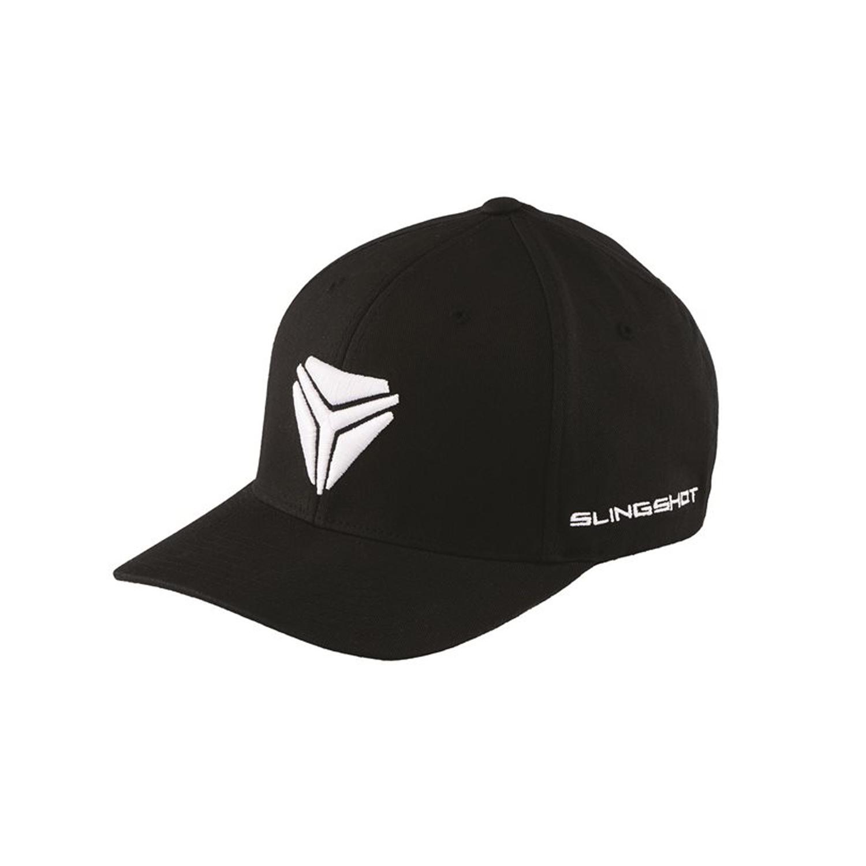 Men's Signature Logo Cap (S/M) - Black/White