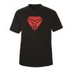 Men's Vintage Shield Tee - Black/Red - Image 1 of 1