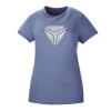 Women's Vintage Shield Tee - Blue/White - Image 1 de 1