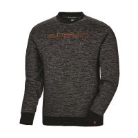 Men's Crew Sweatshirt with Slingshot® Logo, Black