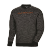 Men's Crew Sweatshirt with Slingshot® Logo, Black - Image 1 of 2