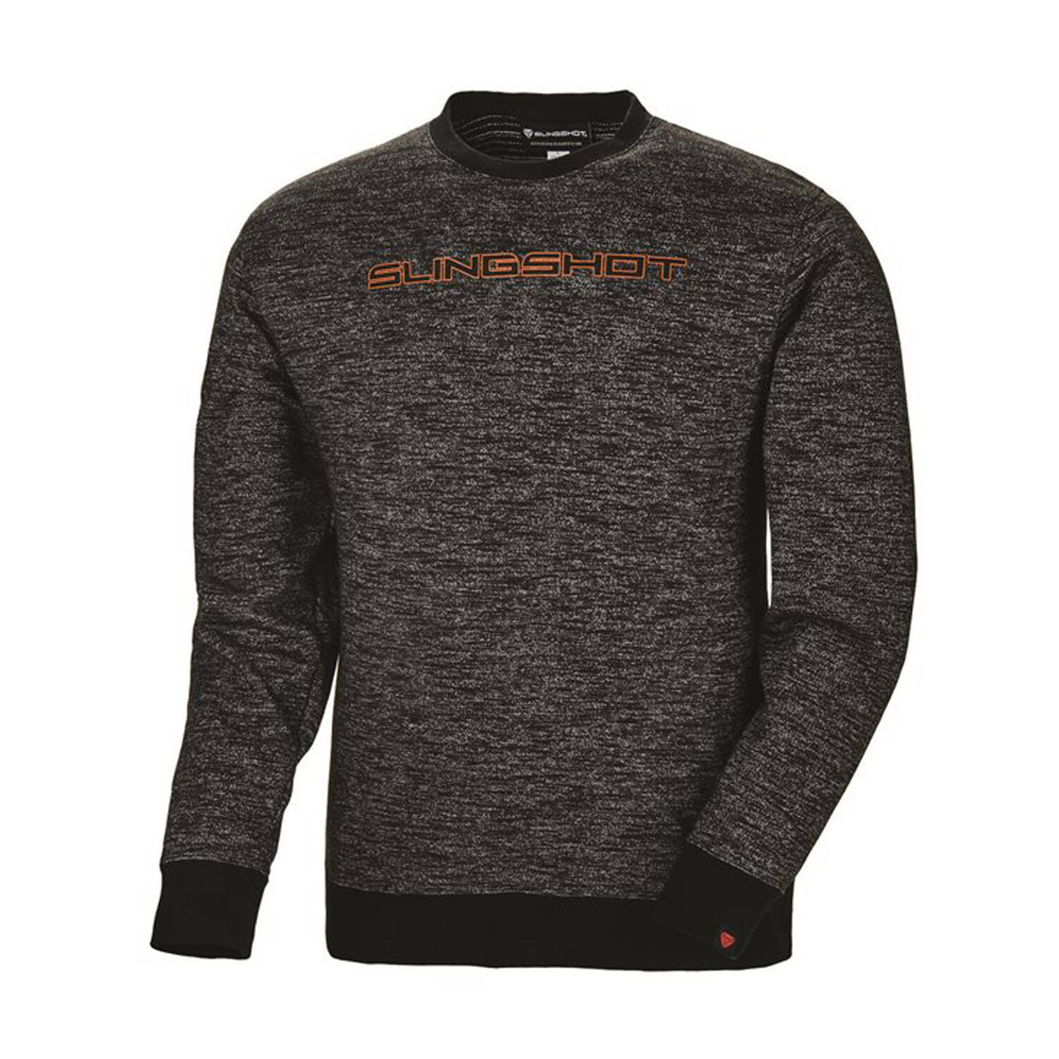 Men's Crew Sweatshirt with Slingshot® Logo, Black