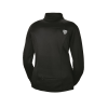 Women's Long-Sleeve Poly Tech Fleece Full-Zip Pullover with Slingshot® Logo, Black - Image 2 of 2