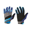 Adult Off-Road Riding Glove with Embossed Knuckle System, Blue - Image 1 of 1