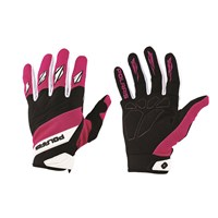 Adult Off-Road Riding Glove with Embossed Knuckle System, Pink