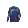Unisex Long-Sleeve Off-Road Riding Jersey with Mesh Ventilated Panels, Blue - Image 1 of 2