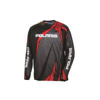 Unisex Long-Sleeve Off-Road Riding Jersey with Mesh Ventilated Panels