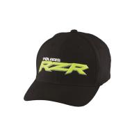 Men's Logo Cap (S/M) - Black/Lime