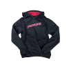 Youth Vapor Hoodie Sweatshirt with RZR® Logo, Black/Red - Image 1 of 2