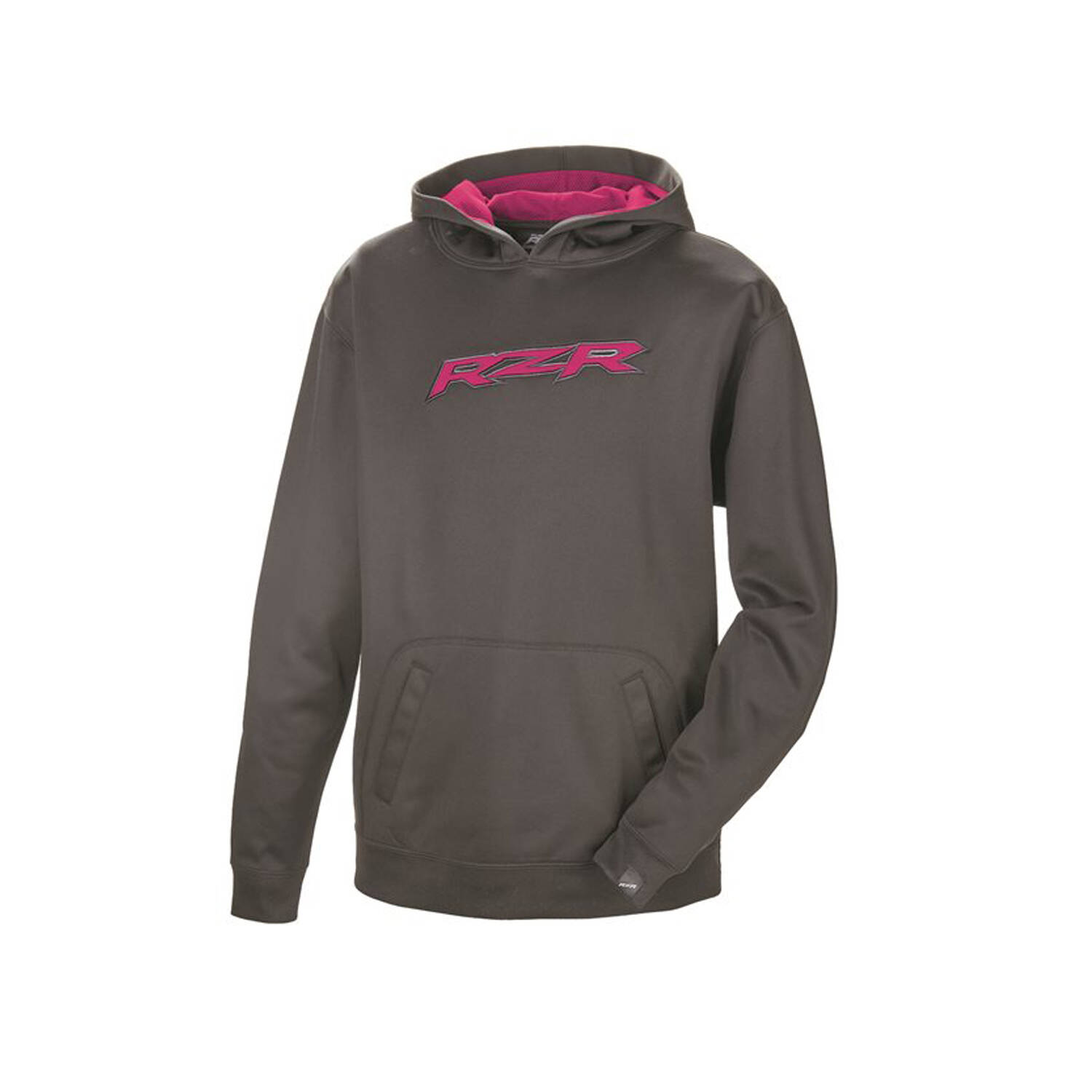 Youth Vapor Hoodie with RZR® Logo, Black/Pink