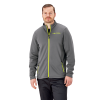 Men's Full-Zip Mid Layer Jacket with Lime Logo, Gray - Image 1 of 1