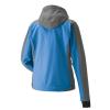 Women's Softshell Jacket with White Polaris® Logo, Blue/Orange - Image 2 de 4