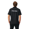 Men's Short-Sleeve Tech Pit Shirt with Polaris® Logo, Black - Image 2 de 2