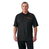 Men's Solid Tech Polo - Black