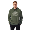 Men's Roseau Hoodie with Logo, Olive Heather - Image 1 of 3