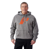 Men's Retro Hoodie with Logo, Gray - Image 1 of 1