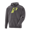 Men's Retro Hoodie with Logo, Charcoal Heather - Image 1 of 1