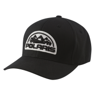 Unisex (L/XL) Flexfit Hat with Mountain Scape Polaris® Logo Patch