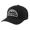 Unisex (S/M) Flexfit Hat with Mountain Scape Logo Patch, Black - Image 1 of 2