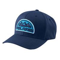 Unisex (S/M) Flexfit Hat with Mountain Scape Logo Patch, Navy