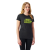 Women's Roseau Graphic T-Shirt with Polaris® Logo, Black - Image 1 de 1