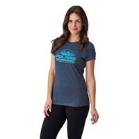 Women's Roseau Graphic T-Shirt with Polaris® Logo, Navy