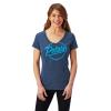 Women's Graphic T-Shirt with Script Polaris® Logo, Navy - Image 1 of 2