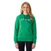 Women's Retro Hoodie Sweatshirt with Polaris® Logo, Kelly Green - Image 1 of 1