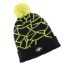 Men's Shattered Cuff Beanie with Polaris® Logo, Lime - Image 1 de 3