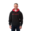 Men's Logo Hoodie - Gray/Red - Image 1 of 1