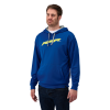 Men's Vapor Hoodie Sweatshirt with RZR® Logo, Blue/Lime - Image 1 of 1