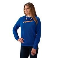 Women's Vapor Hoodie Sweatshirt with RZR® Logo, Blue/Orange