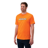 Men's Classic Graphic T-Shirt with RZR® Logo, Orange - Image 1 of 1
