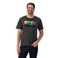 Men's 4-Scene Graphic T-Shirt with RZR® Logo, Gray