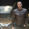 Men's Leather Phoenix Riding Jacket with Removable Lining, Brown - Image 5 of 9