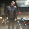 Men's Leather Phoenix Riding Jacket with Removable Lining, Brown - Image 3 of 9