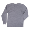 Men's Long-Sleeve Waffle Henley T-Shirt, Gray - Image 2 de 2