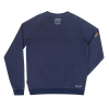 Men's Script Logo Pullover Sweatshirt, Navy - Image 2 of 2