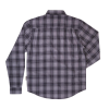 Men's Plaid Shirt, Gray/Black - Image 2 de 2