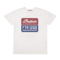 Men's FTR1200 Logo T-Shirt, White