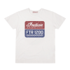 Men's FTR1200 Logo T-Shirt, White - Image 1 of 4