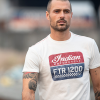 Men's FTR1200 Logo T-Shirt, White - Image 4 of 6