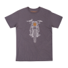 Men's Hand Drawn FTR1200 Headlight T-Shirt, Gray - Image 1 of 4