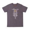 Men's Hand Drawn FTR1200 Headlight T-Shirt, Gray - Image 1 of 4